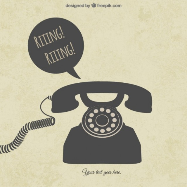 Free vector Retro telephone #4