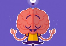 Free vector Brain character #3358