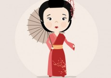 Free vector Chinese woman #1483