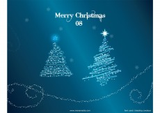 Free vector Christmas Tree Vector – Christmas Trees with Snow Wallpaper #3764