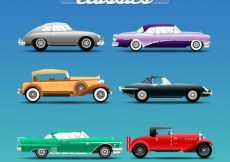 Free vector Classic cars #1586