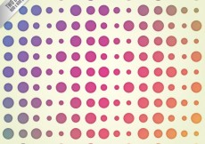 Free vector Colorful dots background #3502