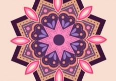 Free vector Colorful mandala #2283