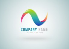 Free vector Colorful wave logo #693