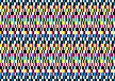 Free vector Deformed colorful pixel background #3222