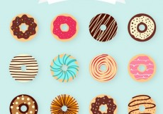 Free vector Donuts collection #2163