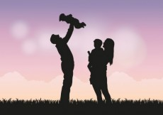 Free vector Family silhouettes #1465