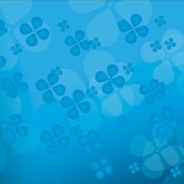 Free vector Floral blue vector background #3949