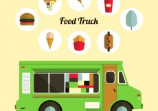 Free vector Food truck #1421