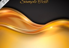 Free vector Golden wave background #259