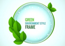 Free vector Green frame #386