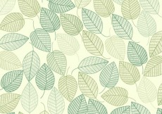 Free vector Green leaves background #1972