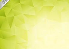 Free vector Green polygons background #1002
