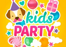 Free vector Kids party #2930