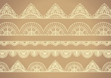 Free vector Lacy borders #824