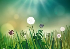Free vector Natural meadow #3952