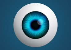 Free vector Realistic eye #115