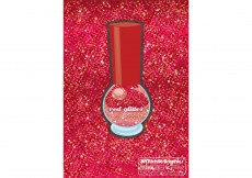 Free vector Red Glitter Vector Background #3816