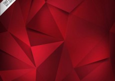 Free vector Red polygons background #151