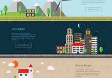 Free vector Road banners #1660