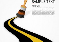 Free vector Road template #2392