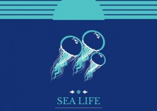 Free vector Sea life background #1713