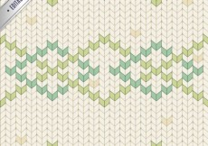 Free vector Stitched polygonal pastel pattern #1061