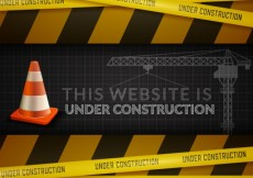 Free vector The website under construction #3025
