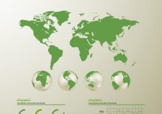 Free vector The world infographic #1455