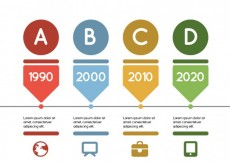 Free vector Timeline rounded #308