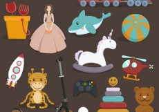 Free vector toys collection #400