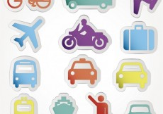 Free vector Transport icons #2957