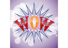 Free vector Glossy Wow #3504