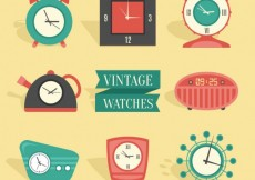 Free vector Vintage watches #2632
