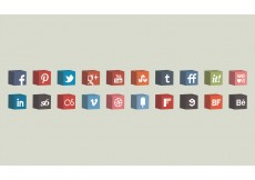 Free vector 3D Vector Cube Icons Set #8314