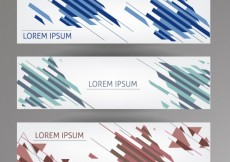 Free vector Abstract banners template #10219