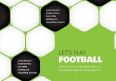 Free vector Abstract football background #7434