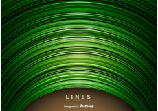 Free vector Abstract Green Lines Background #11844
