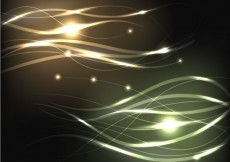 Free vector Abstract light waves #8921