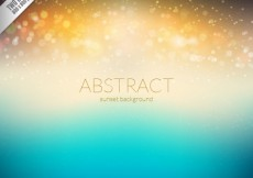 Free vector Abstract sunsent background #11054