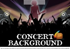 Free vector Awesome Free Vector Concert Background #9637