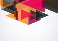 Free vector Background made with translucent triangles #7779