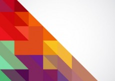 Free vector Background with vivid colors triangles #6825