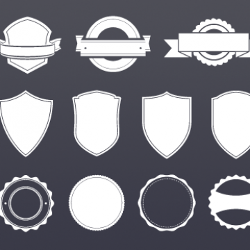Free vector Badge Template #5771