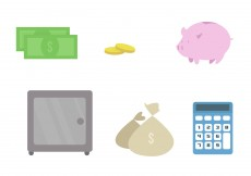 Free vector Bank Vector Icon Set #11005