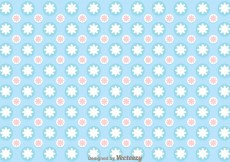 Free vector Blue Circle Girly Pattern Vector #8092