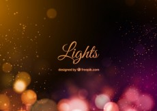 Free vector Bokeh lights background #11891