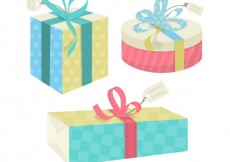 Free vector Cartoon gift boxes #6207
