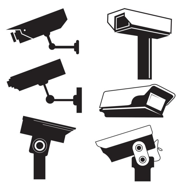 Free vector CCTV Camera Vector Graphics #9403