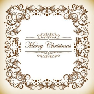 Free vector Christmas Decoration Frame #4569